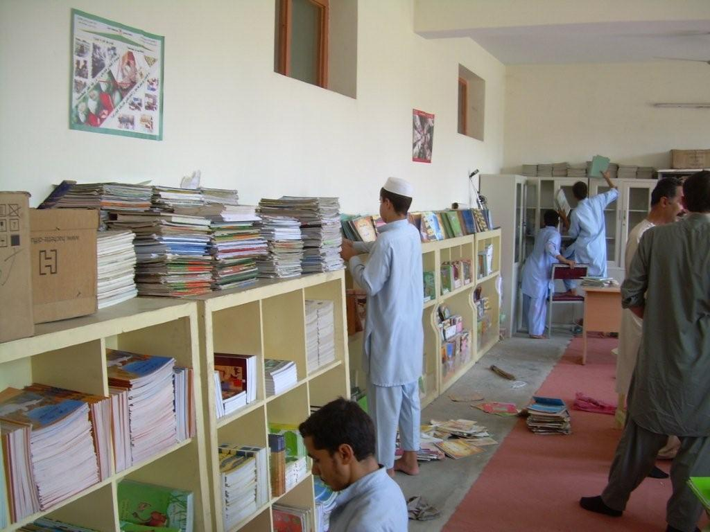Équipement d'une bibliothèque, Djalalabad