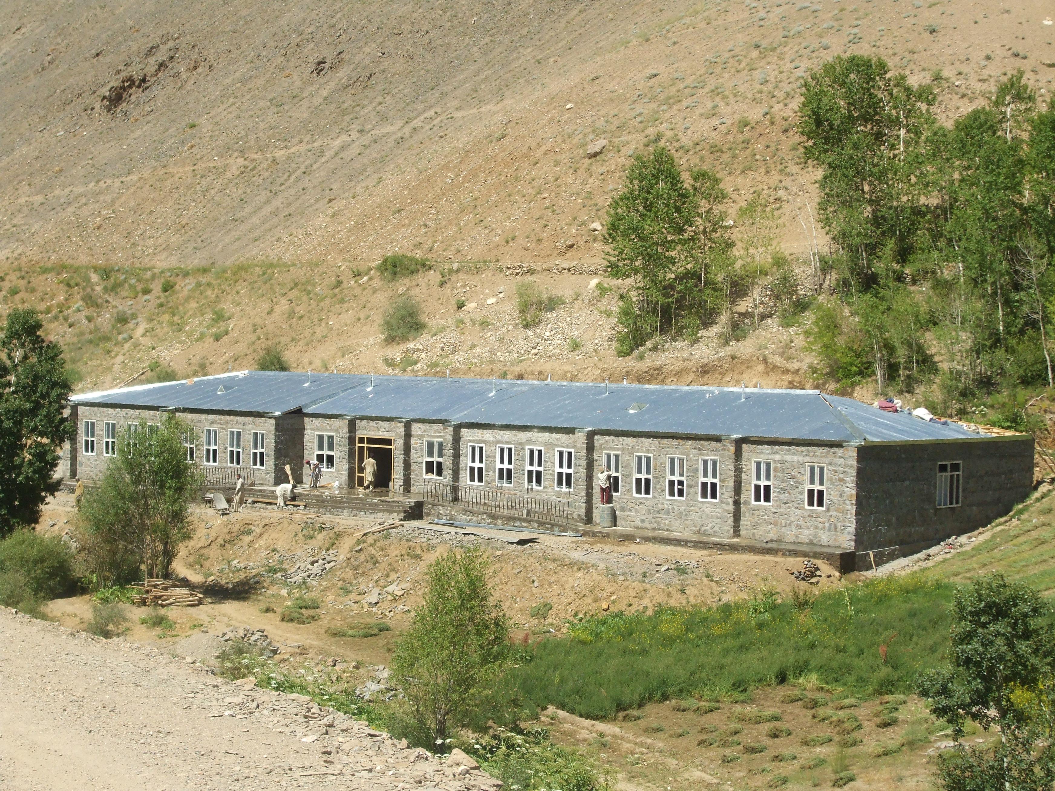 Nouveau bâtiment construit par AFRANE