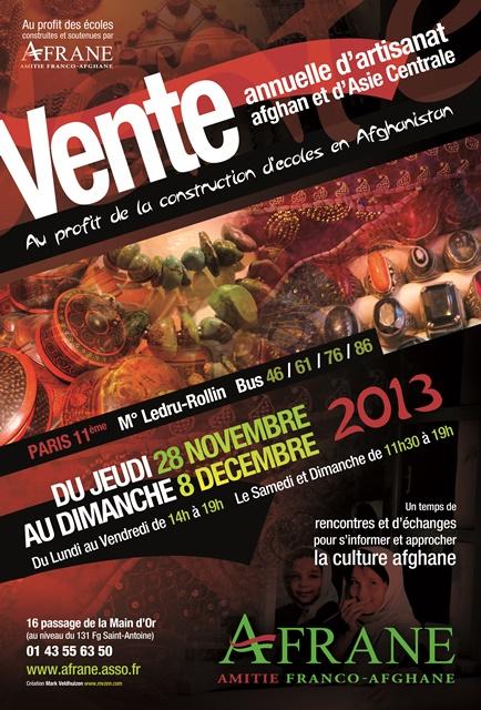 AFFICHE VENTE AFRANE 2013
