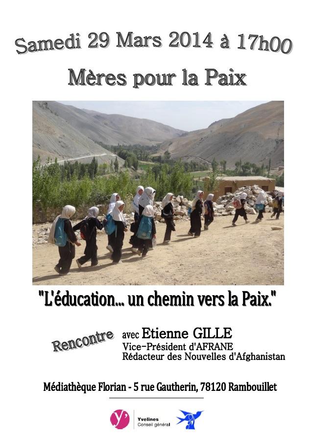2014.03 Rencontre AFRANE Mères pour la Paix