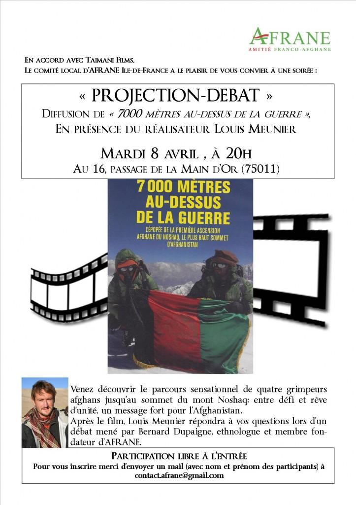Invitation AFRANE Soirée Projection & débat