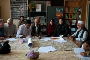 Réunion des directeurs en septembre 2014 à Kaboul