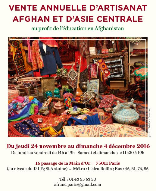 Vente artisanat 2016-2